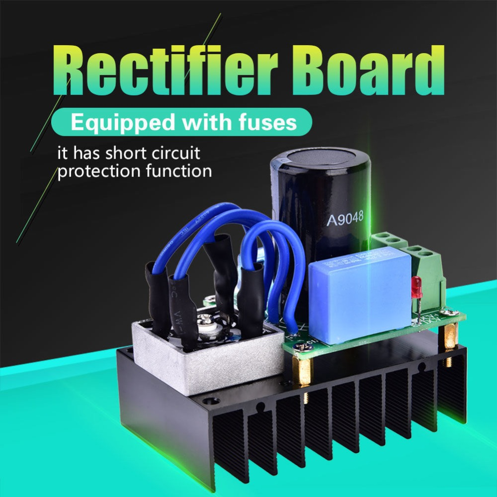 AC-DC Converter Board 0-220VAC to 0-311VDC Multiple Protection Rectifier Module цена
