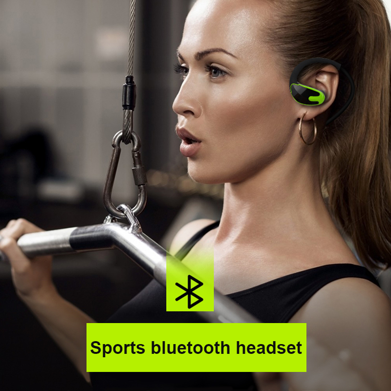 OASION Wireless Bluetooth Earphone Running Headphones With Microphone Stereo Music Wireless Sports Bluetooth Headset For Phone