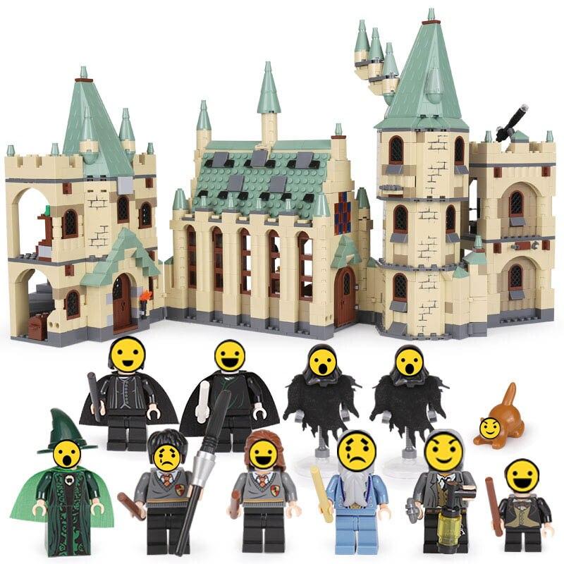 Lepin Briques de Construction Blocs 16030 Le Poudlard Château Modèle ensemble 1340 pcs legoINGlys Harry Film potter 4842 jouets pour enfants