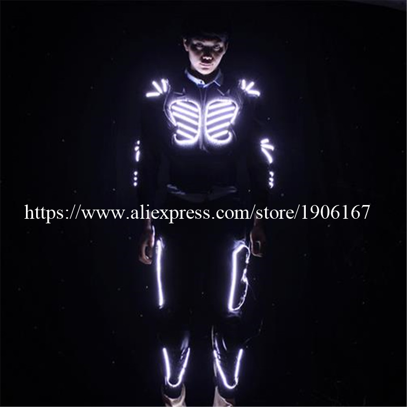 LED Costume LED Clothing Light suits LED Robot suits david robot03