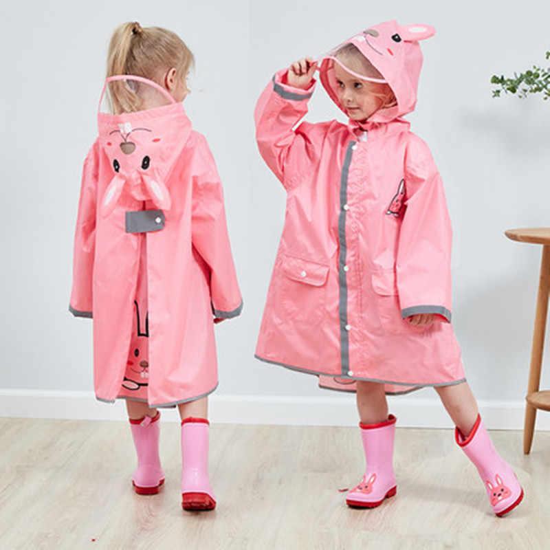 Childrens Waterproof Jacket School Boys Girls Childs Coat Hooded Fleece Lined