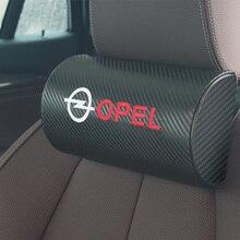Автомобильные подушки под шею, заполненная волоконная подушка на один подголовник для OPEL Corsa Insignia Astra Antara Meriva Zafira OPC