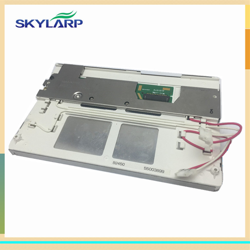 skylarpu Car GPS navigation LCD display panel for SHARP B2450 55003899 K4015TP (without touch) портативный gps навигатор lk navigation e18 gps