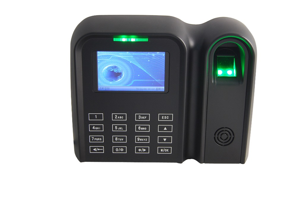 US $165 99 |biometric fingerprint time attendance machine price, support  TCP/IP/USB/wifi wireless-in Fingerprint Recognition Device from Security &