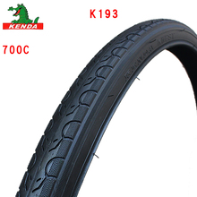лучшая цена KENDA bicycle tire K193 Steel wire tyre 700c 700*25 28 32 35 38 40C   Road bike Small pattern mountain bike tires parts