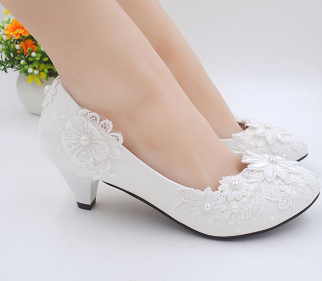 Popular 2 Inch Ivory Wedding Shoes-Buy Cheap 2 Inch Ivory Wedding ...