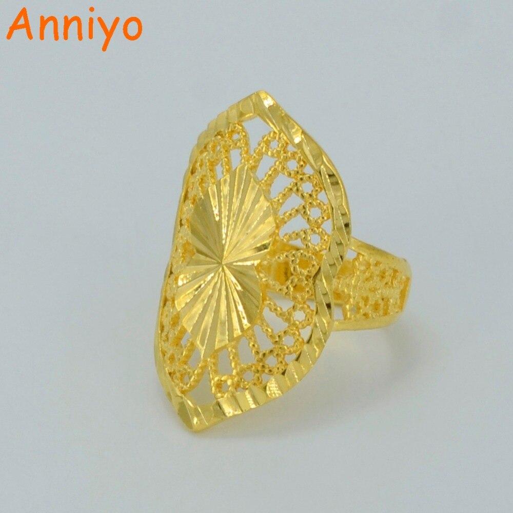 Diamond Rings Sale Dubai: Anniyo Dubai Gold Ring For Women's,Gold Color & Copper