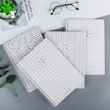 B5/A5 Coil Notebook Geometric Dot Notepad Sketchbook for Painting Drawing Diary Journal Pocket Notebook School Supplies b5 a5 16k 32k new sketch book notebook notepad sketchbook for paiting drawing diary journal creative gift try your dream