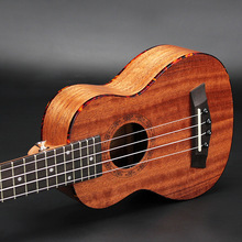 Soprano Ukulele 21 Inch Hawaiian Guitar 4 Strings Ukelele Guitarra Uke Mahogany Handcraft Wood Red  Musical Instruments