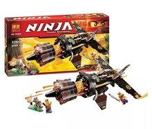 Bela Ninjagoes Boulder Blaster Anacondrai outpost Building Block Set Cole Zugu Slevin Minifigures Toy legoe 70747 Compatible