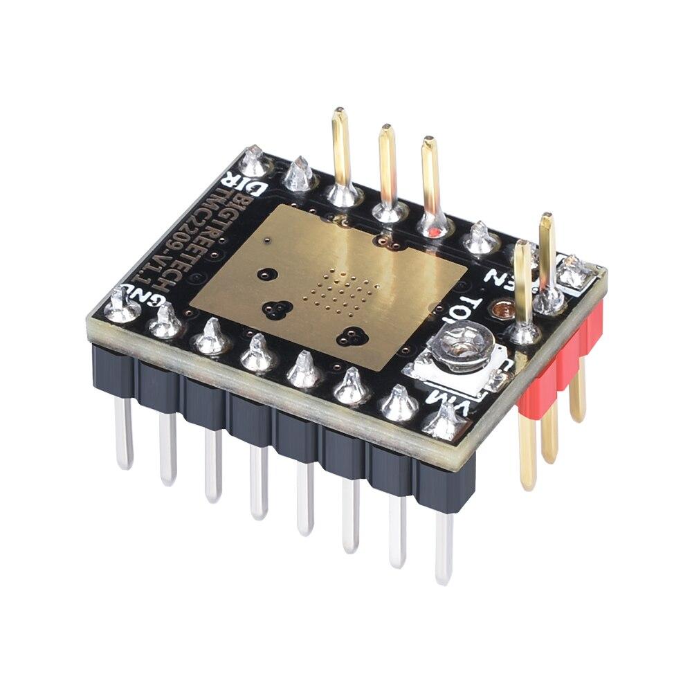 BIGTREETECH TMC2209 UART Stepper Motor Mute Driver Stepstick VS TMC2208  TMC2100 TMC2130 For SKR V1 3 SKR Pro MKS 3D Motherboard