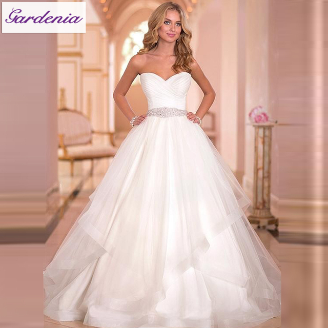 Simple White Ball Dresses
