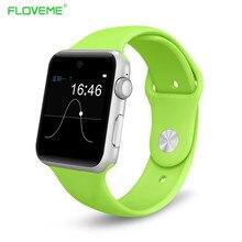 FLOVEME Ips-bildschirm Fashion Sport Smart Watch Freisprecheinrichtung Elektronische Sync Notifier Tragbare Geräte Für Android IOS Smartwatch