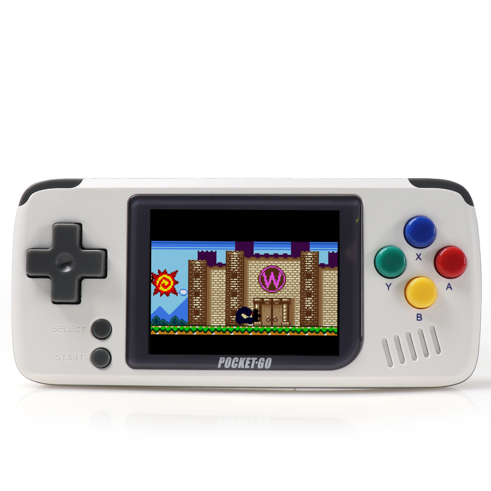 Image 4 - PocketGo V1.3 CFW, Retro Game Console, Handheld game players,Video game console.  Portable Mini Handheld Console,1000mAh Battery-in Handheld Game Players from Consumer Electronics