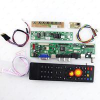 TV HDMI VGA USB CVBS RF LCD Controller Board For 24INCH M240HW01 1920*1080
