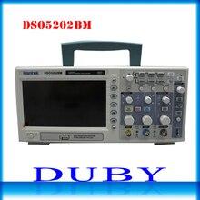 Hantek DSO5202BM цифровой автомобильный Осциллограф USB Lcd Дисплей настольная Osciloscopio 200 мГц 2 Каналы 1GSa/s 2 м запись Длина