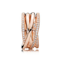 YPD66 S925 Sterling Silver Ring lady ring zircon ring wedding engagement birthday party gift