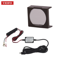 Original VIOFO CPL Filter Lens + Original 12V to 5V hardwire cable kit for VIOFO A118C2 / A119 /A119S Dash Dash cam Camera DVR