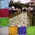 1000 unids/lote Decorativos Decoraciones de La Boda de Flores de Seda Artificial Pétalos de Rosa para Bodas Colores Para Elegir