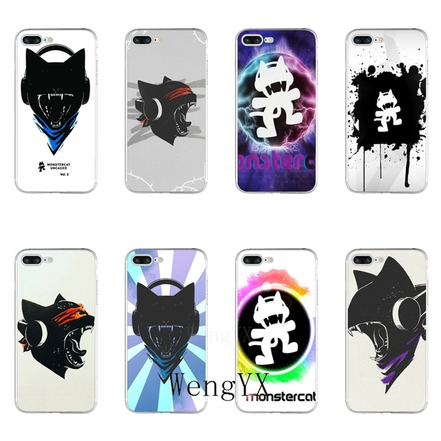 f72d4ca330c5 fashion music Monstercat Slim silicone TPU Soft phone case For Samsung  Galaxy S3 S4 S5 S6 S7 edge S8 S9 Plus mini Note 3 4 5 8-in Half-wrapped  Case from ...