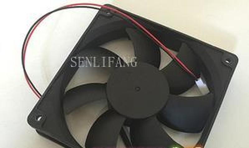 For FD121225MB DC 12V 0.29A 120X120X25mm Server Square Fan