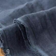 HD1006 льняная ткань 135 см 268 грамм каменная мельница песок промытая льняная ткань для одежды цвета слоновой кости серый синий 1 м для тестирования образцов