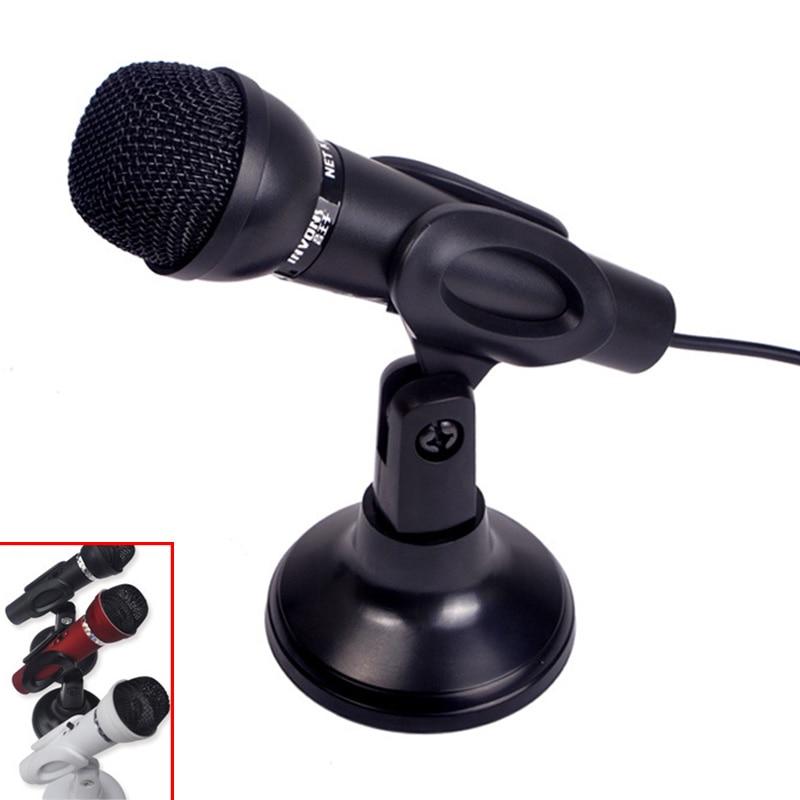 3 5mm Stereo Plug Condenser Microphone Multimedia Desktop