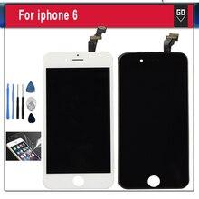 Calidad aaa sin pantalla lcd pixel muerto para iphone6 para iphone 6 pantalla lcd y digitalizador asamblea panel táctil
