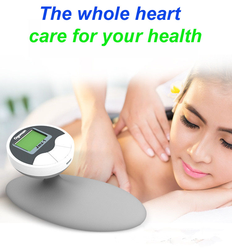 2PCS Small electronic pulse health care instrument is used for the use of a massage instrument for the whole body the health gap