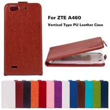 Vertical Flip PU Leather For ZTE Blade A460 Cases For ZTE Blade L4 A460 5.0 inch Phone Cover With Magnetic TPU Housing Shell