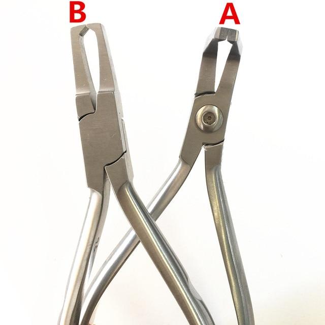 Orthodontic Bracket Removing Pliers Braces Removal Ortho Plier Dental Lab