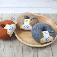 50 gam/Bóng Chồn Cashmere Merino Len Dài Tóc Sợi Cho Tay-Dệt Kim Crochet Đề Mỏng Tốt Mặc trong Mùa Đông