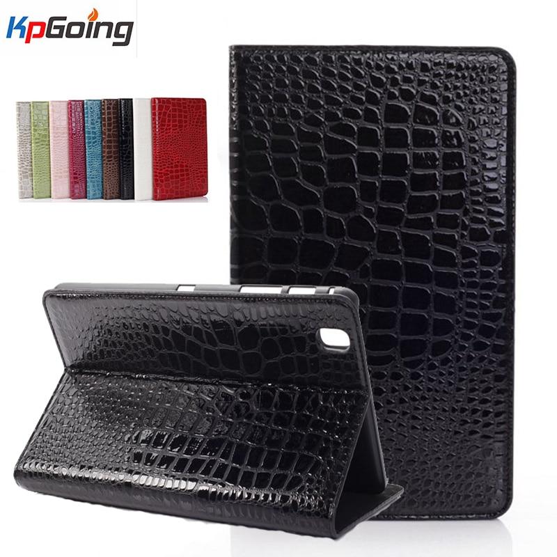 все цены на  Crocodile Pattern Case for Samsung Galaxy Tab 3 Pro 8.4 T320 SM-T320 Flip Stand Cover for Samsung Tab 3 Pro 8.4 T320 SM-T320  онлайн