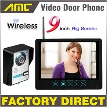 9 Touch Key Monitor Wireless Video Door Phone Intercom Doorbell recording system IR Night Vision Camera
