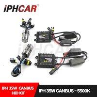 Free Shipping IPHCAR Car Styling 35W Hid Xenon Bulb Kit HID Light Kit Canbus Slim Ballast