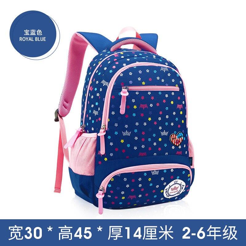 2018 детское платье принцессы рюкзак школы школьные сумки для девочек Дети сумка печати Школьный Рюкзак Дети ранцы mochila
