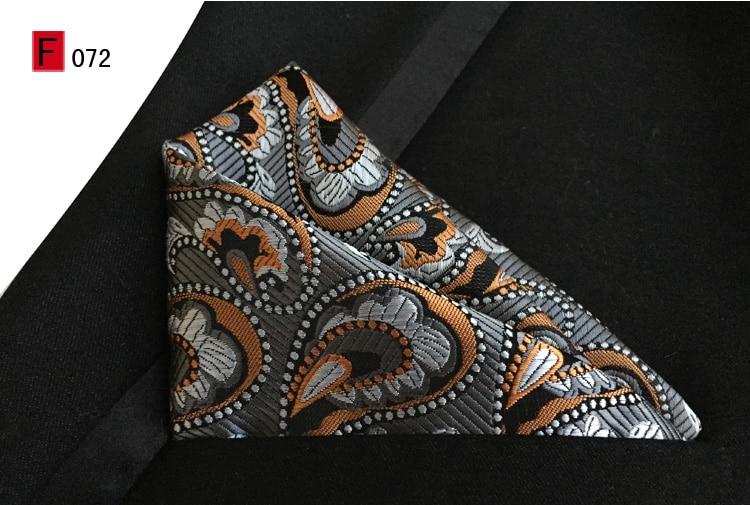 Luxury Woven Pasiley Pocket Square
