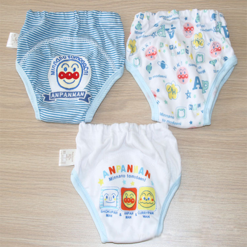 Free Ship 3 pieces 3 layers Baby Training Pants Kentcow Baby Shorts Boy Girl Nappies Infant Diapers Cotton Underwear SY001