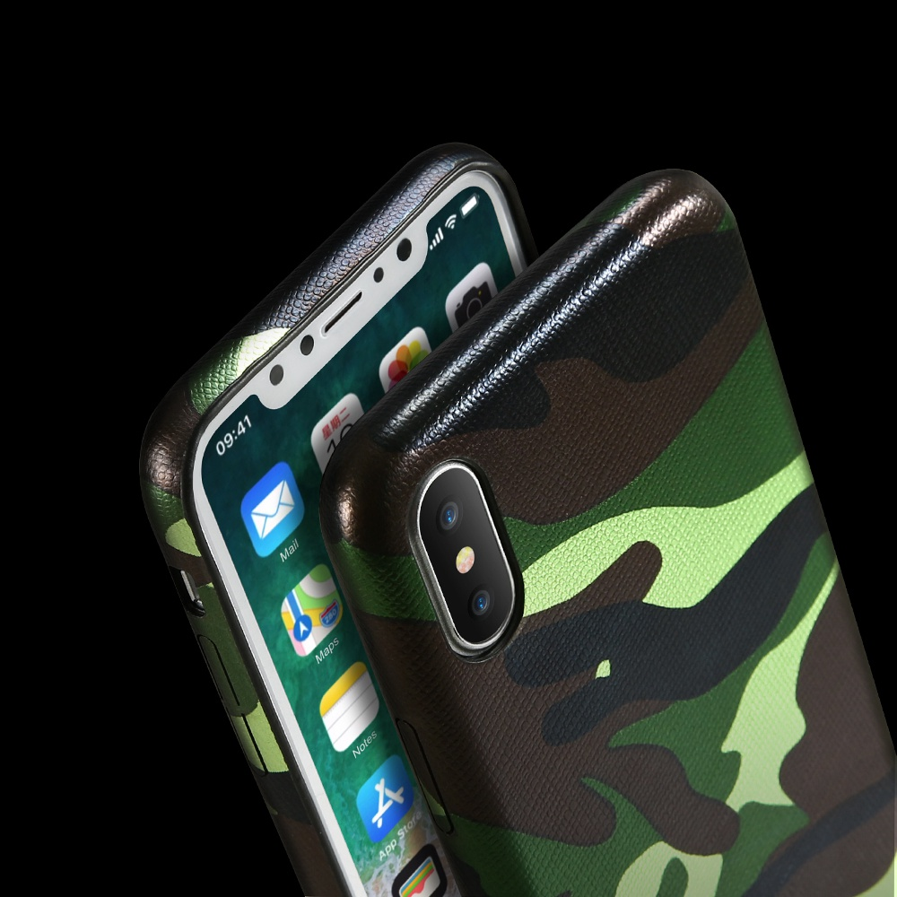 KISSCASE Case For iPhone X 8 7 6 Plus 5 5S SE Military Camouflage Back Cover For iPhone X 8 7 6 6S Plus Cases Army Phone Shells