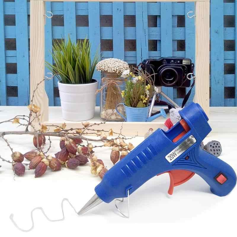 20 ワット高温度ヒーターホットメルトグルーガンミニ電熱ガン修復ツールミニ銃サーモ電気熱温度ツール
