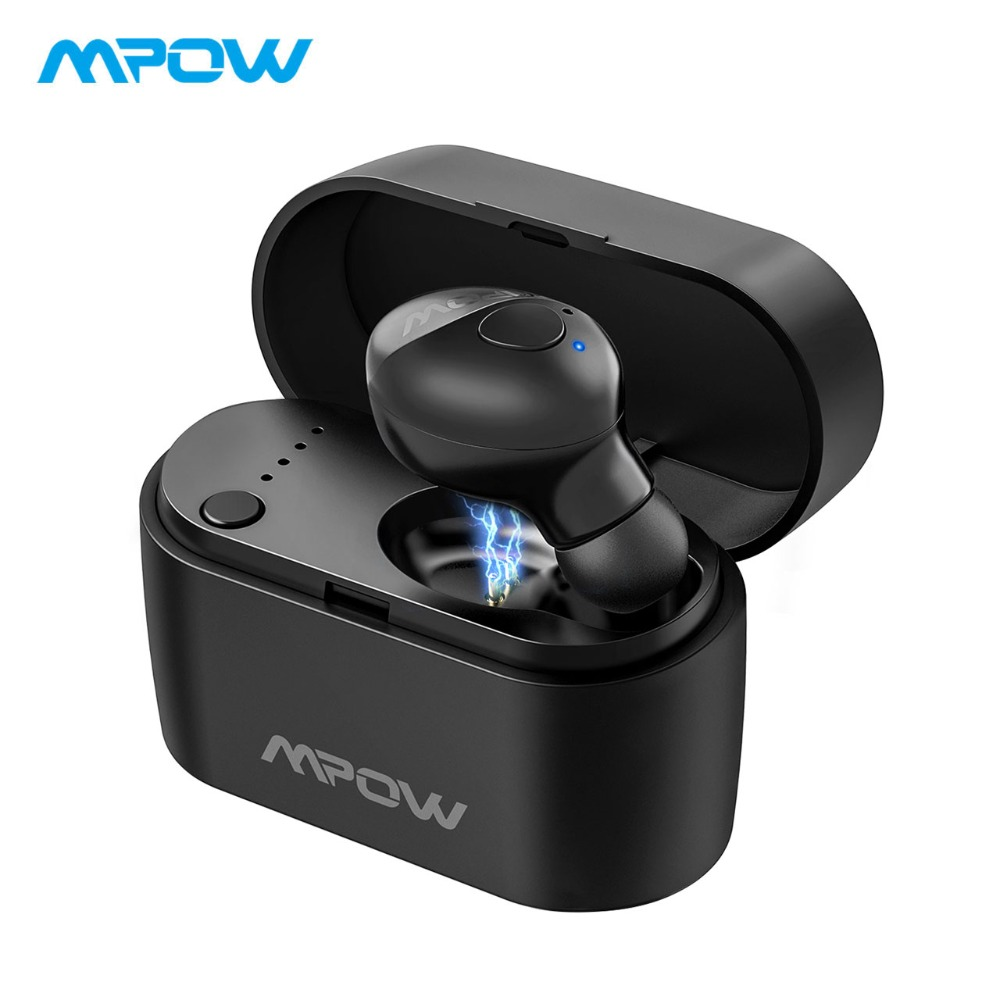 Mpow EM14 Wireless Earphone Single Crystal Clear Bluetooth 5 0 Earbud With Microphone For iPhone XS