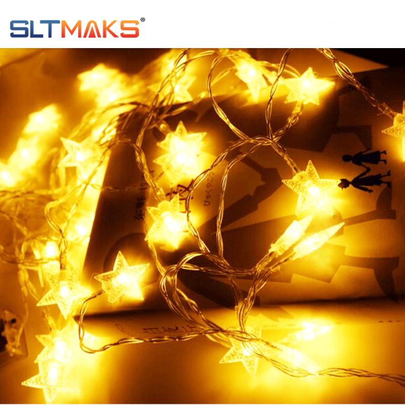 10M 20M 30M 50M Outdoor STAR LED STRING LIGHTS with plug for party wedding Christmas decotation in Lighting Strings from Lights Lighting