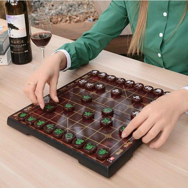 Jeu d'échecs chinois, Imitation de Jade plateau magnétique de haute qualité, 6