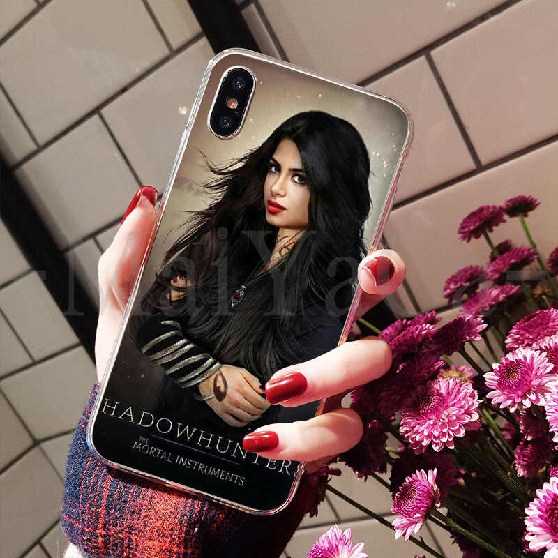 MaiYaCa アメリカのテレビシリーズ Shadowhunters 2 高級品質電話ケース iphone 8 7 6 6S プラス X XS 最大 10 5 5S 、 SE XR Coque シェル