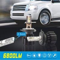 2pcs Car Headlight H4 H7 H8 H9 H11 9006 50W 8000LM P9 LED Kit Super Heat