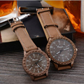 Moda Jóias Amantes de Couro PU Relógio de Quartzo Relógio Analógico Unissex Mulheres De Luxo Relógios Senhoras Clássicas Assistir Homens Regolio
