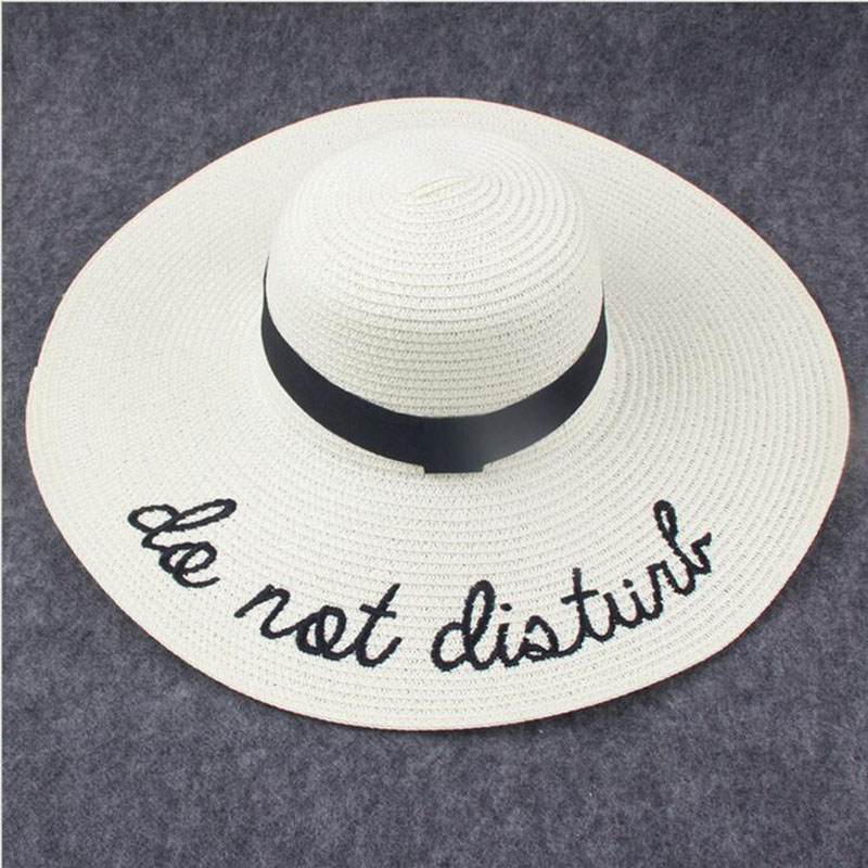 3ee3bc0aa3952 ... 2017 Summer Women Sun Hat Ladies Wide Brim Straw Hats Foldable Beach  Panama Hats Church Hat Bone Chapeu Feminino. 45% Off. 🔍 Previous