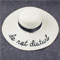 2017 Summer Women Sun Hat Ladies Wide Brim Straw Hats Outdoor Foldable Beach Panama Hats Church