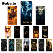 Babaite lord of the rings Movies TPU Soft Phone Accessories Cell Phone Case for Apple iPhone 7 6 6S 8  Plus X XS MAX 5 5S SE XR фигурка funko pop movies lord of the rings – pippin took 9 5 см