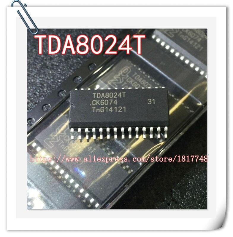10PCS/LOT TDA8024T TDA8024T TSSOP-28 Smart card interface chip